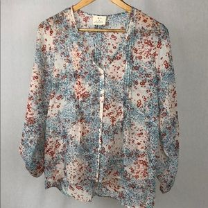 Anthropologie Blouse